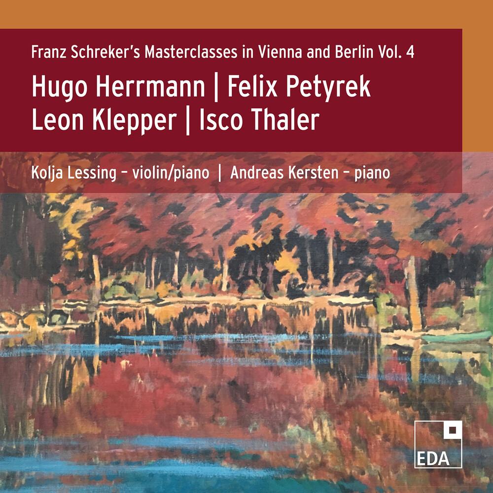 Herrmann / Lessing / Kersten - Franz Schreker 4