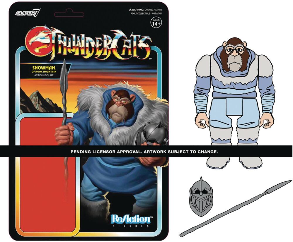 Thundercats Reaction W2 - Snowman of Hook Mountain - Super7 - Thundercats ReAction Wave 2 - Snowman Of Hook Mountain