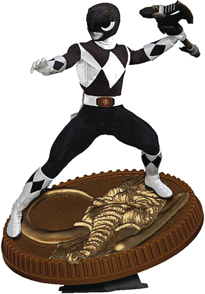 Pcs Collectibles - PCS Collectibles - Power Rangers Black Ranger 1:8 Scale PVC Statue