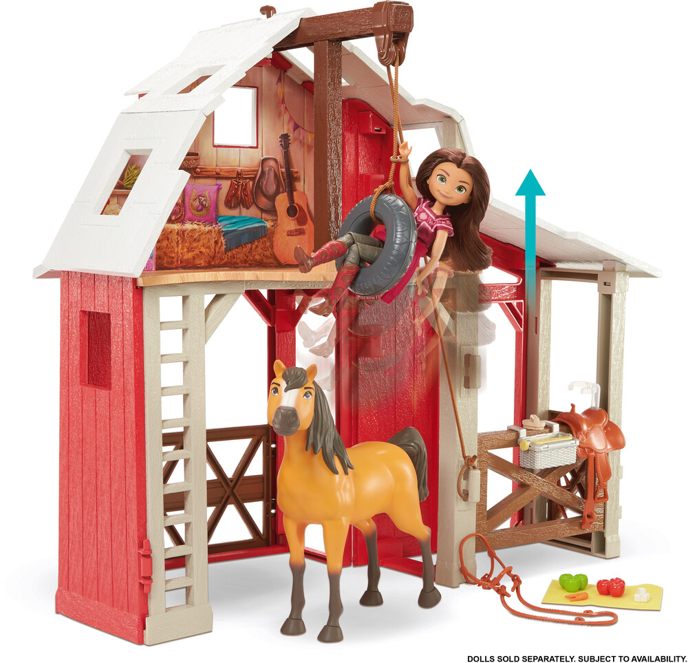 - Mattel - Spirit Barn Playset