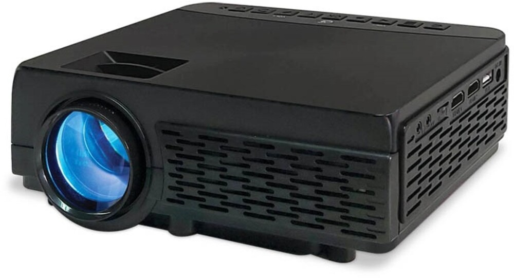 - Gpx Pj300b Mini Led Video Projector Bt Black