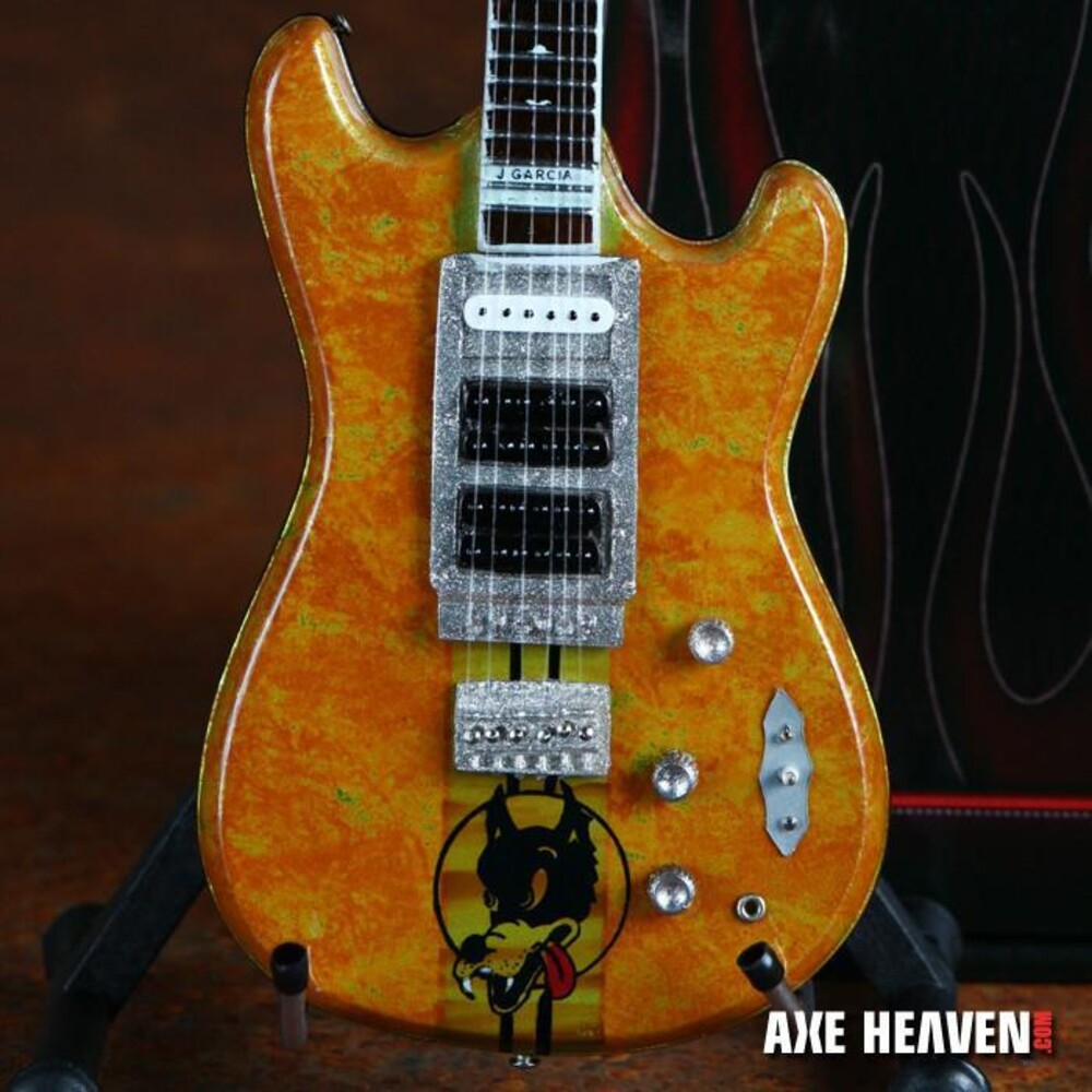 - Jerry Garcia Grateful Dead Wolf Mini Guitar (Clcb)