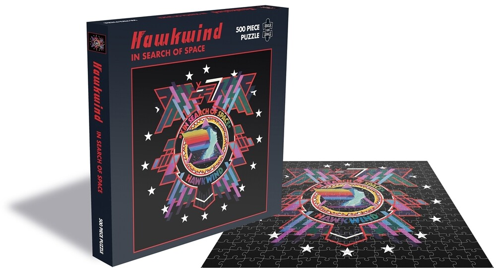 - Hawkwind In Search Of Space (500 Pc Jigsaw Puzzle)