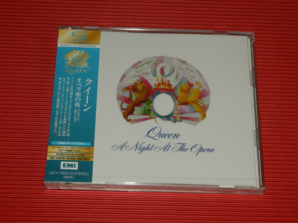 Queen - Night At The Opera [Deluxe] [Remastered] [Reissue] (Shm) (Jpn)
