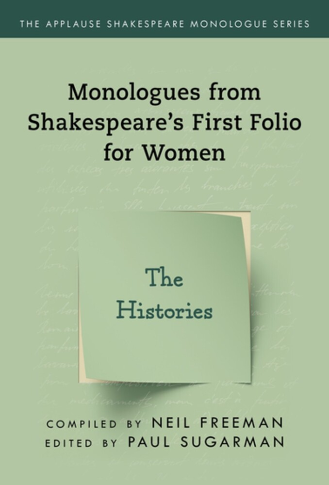 Neil Freeman - Shakespeares Monologues For Women The Histories