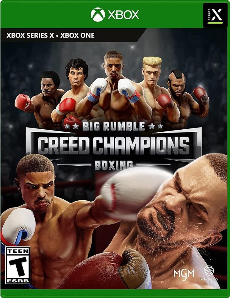 - Xb1/Xbx Big Rumble Boxing: Creed Champions