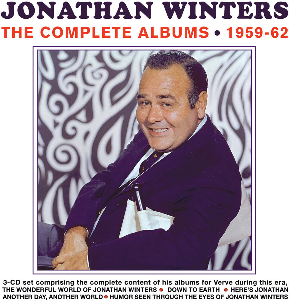 Jonathan Winters - The Complete Albums 1959-62