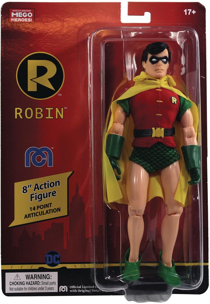 - Mego Dc Comics Robin 8in Af (Afig) (Clcb)
