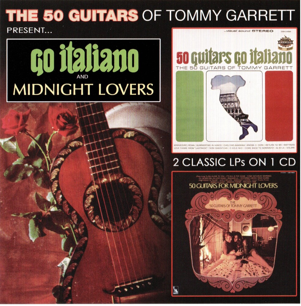 Tommy Garret - Go Italiano & Midnight Lovers