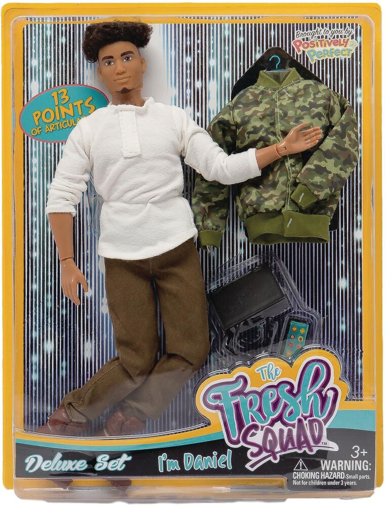 World of Epi - Fresh Squad Daniel Deluxe Set Doll (Net)