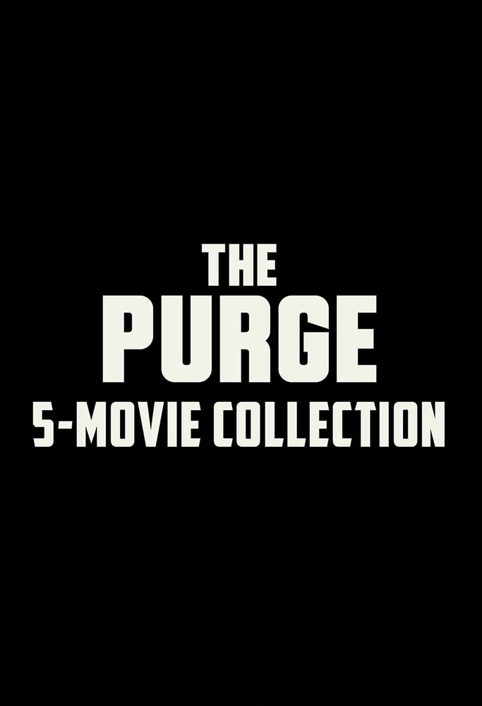 The Purge [Movie] - The Purge: 5-Movie Collection