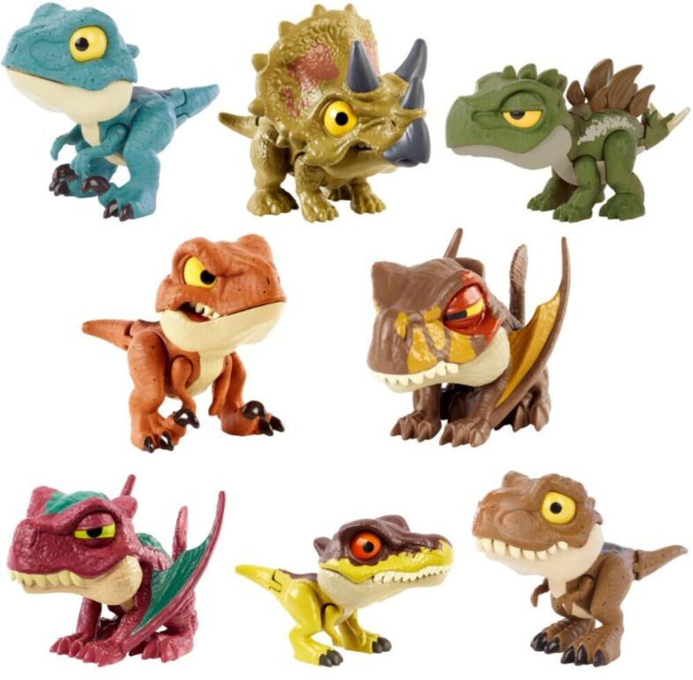 Jurassic World - Jurassic World Uncaged Snap Squad Asrt (Afig)