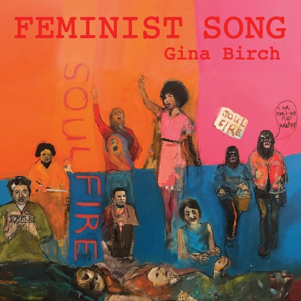 Gina Birch - Feminist Song / Feminist Song (Ambient Mix)