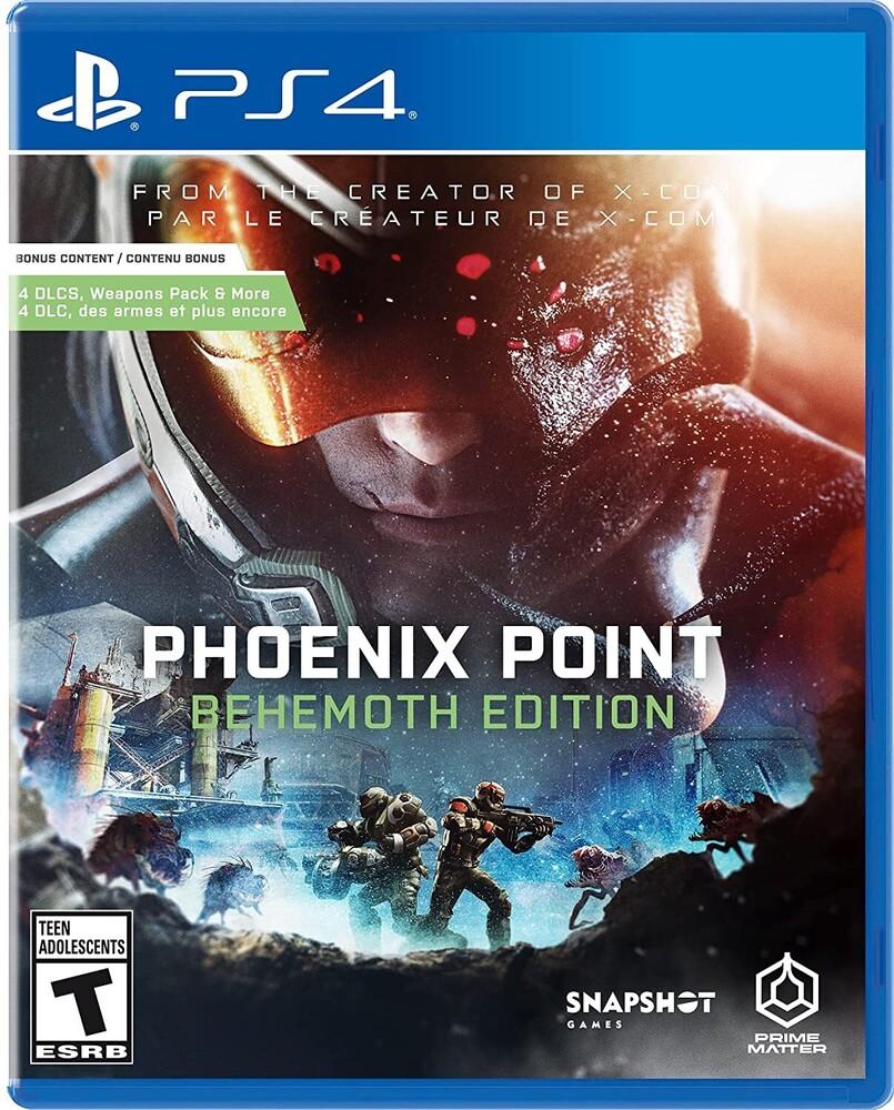 Ps4 Phoenix Point: Behemoth Ed - Ps4 Phoenix Point: Behemoth Ed