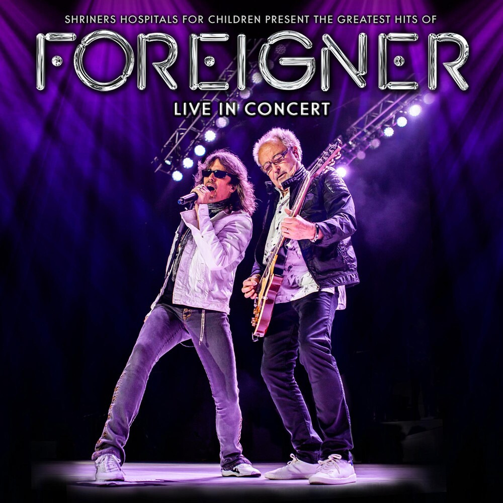 Foreigner - The Greatest Hits Of Foreigner Live In Concert