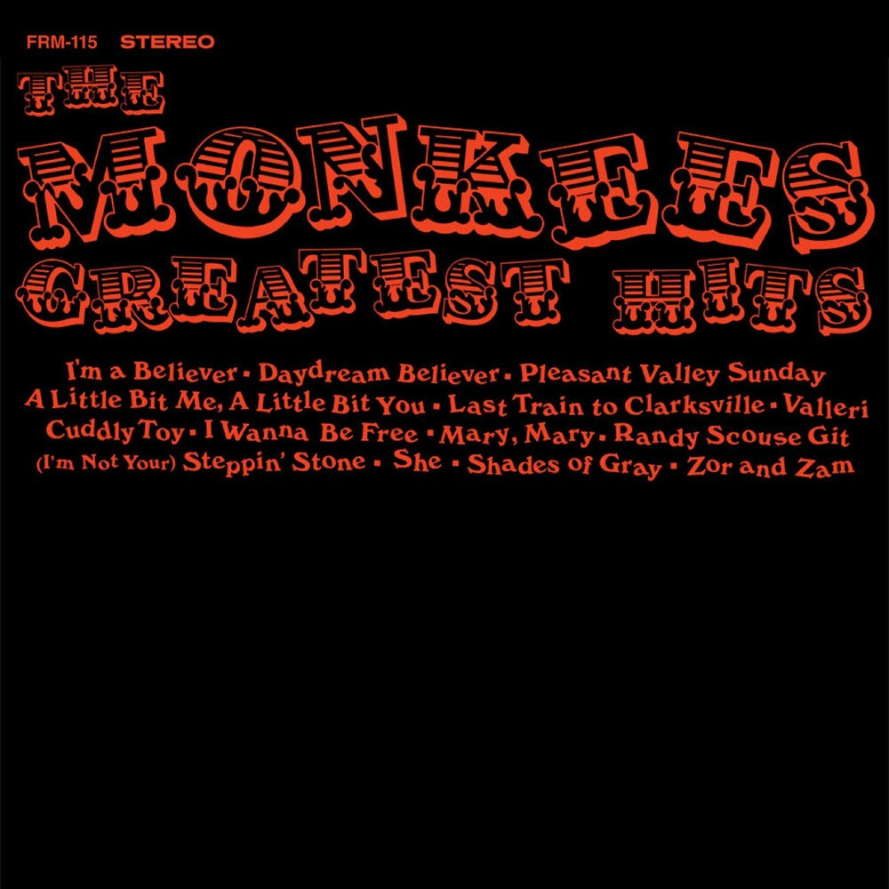 The Monkees - Greatest Hits [180 Gram Audiophile Translucent Gold Vinyl/Limited Anniversary Edition]