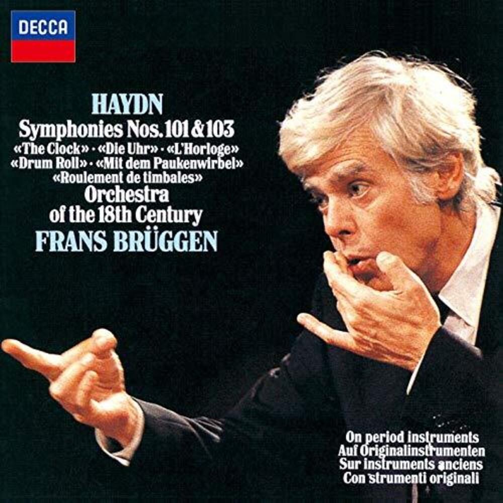 Haydn / Frans Bruggen - Haydn: Symphonies 101 & 103 [Limited Edition] (Jpn)