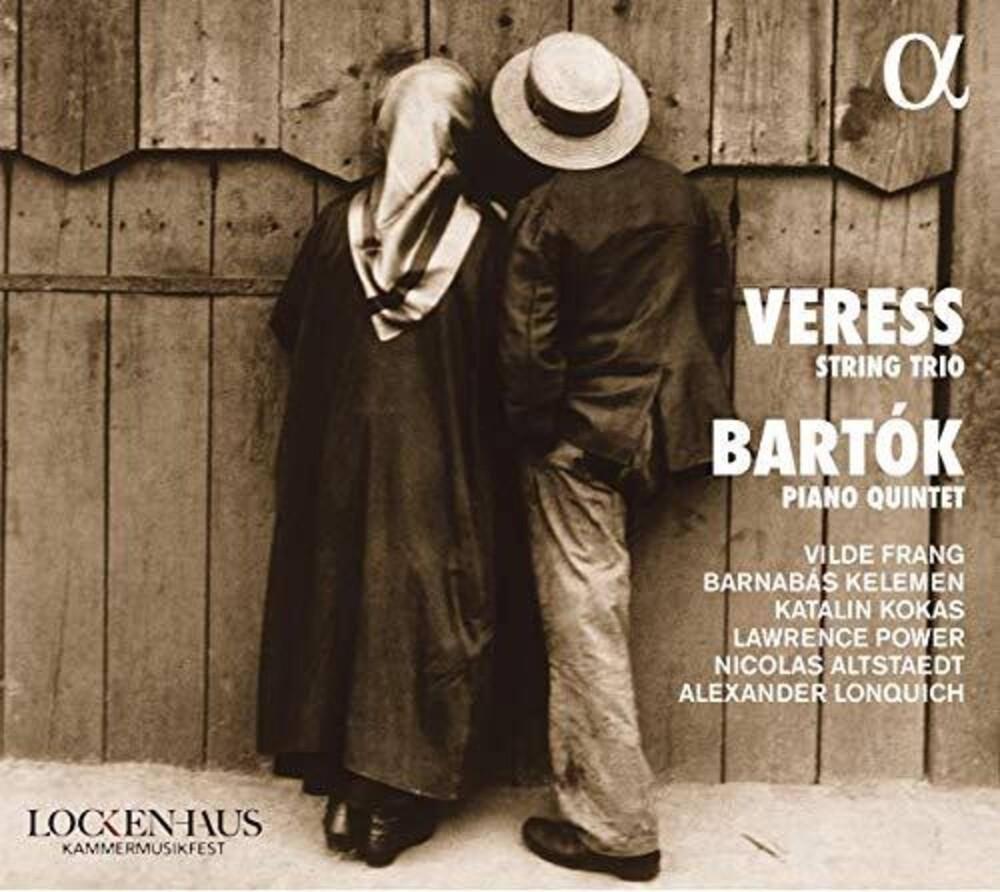 Bartok / Lonquich / Altstaedt - String Trio / Piano Quintet