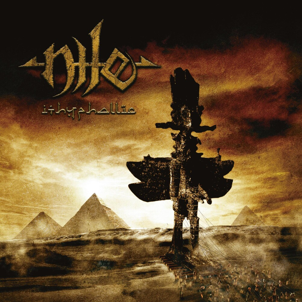 Nile - Ithyphallic [Clear with White/Orange Splatter LP]