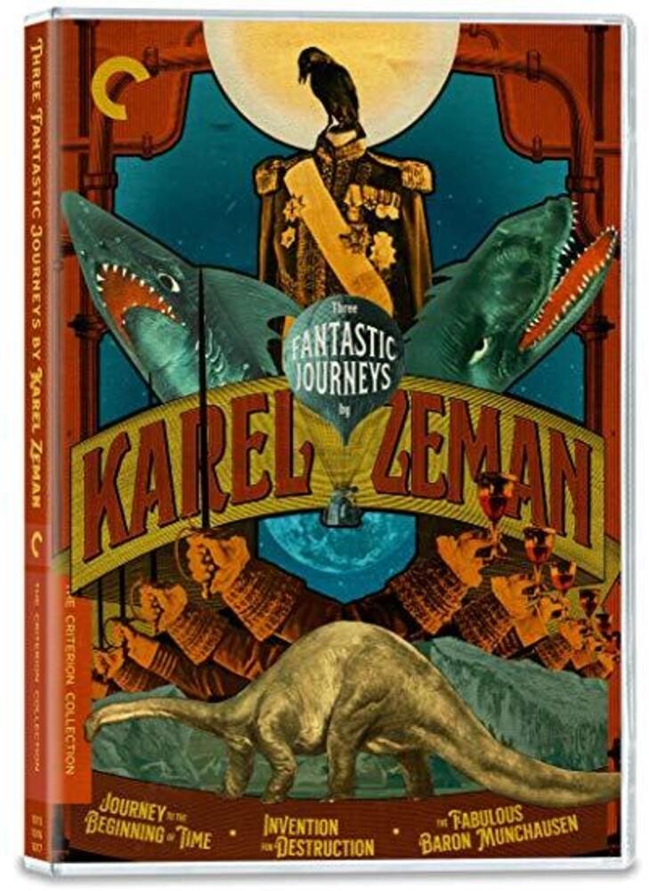 - Three Fantastic Journeys by Karel Zeman (Criterion Collection)