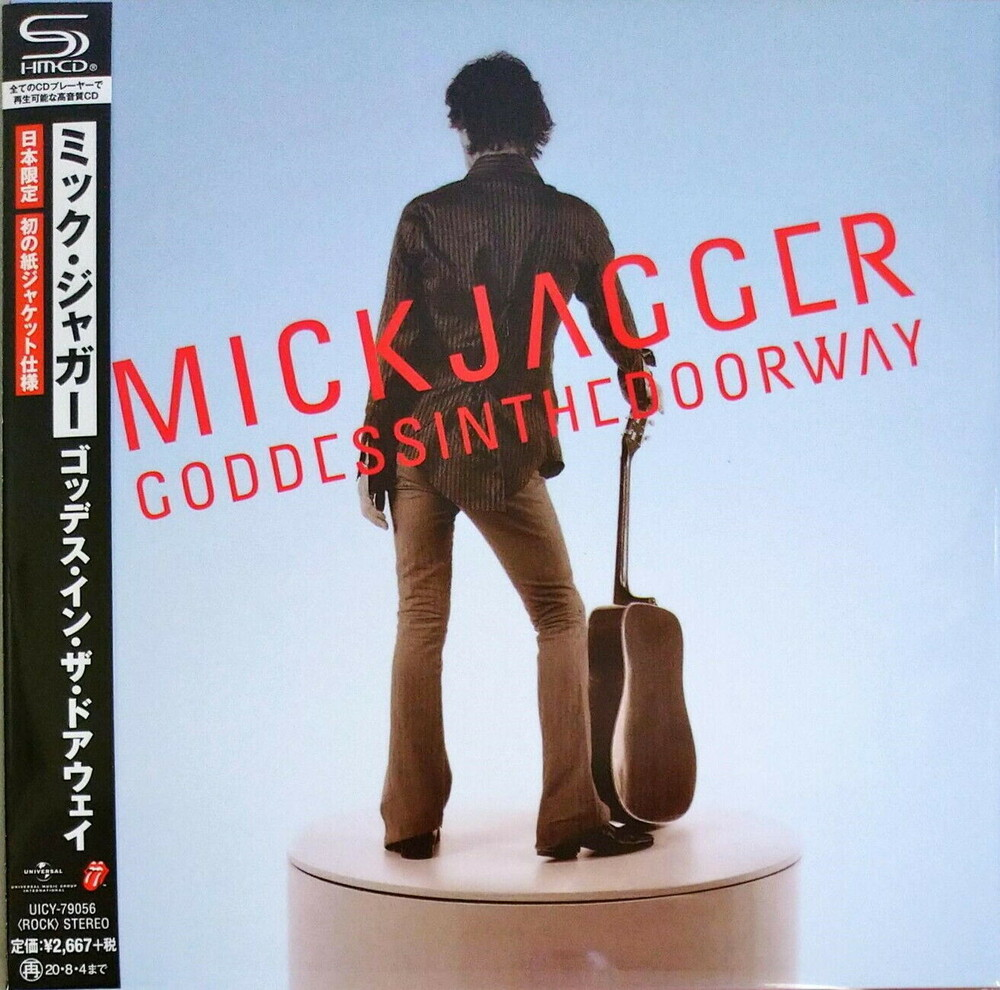 Mick Jagger - Goddess In The Doorway (Japanese Remastered / SHM-CD / Paper Sleeve)
