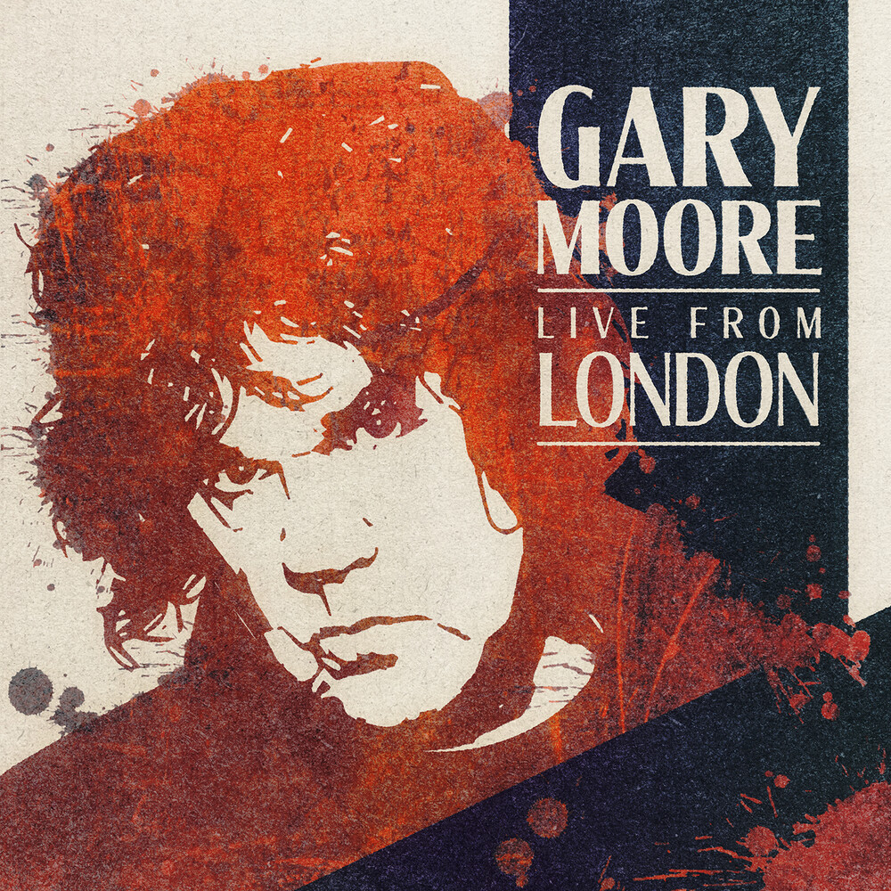 Gary Moore - Live From London [Transparent Blue LP]