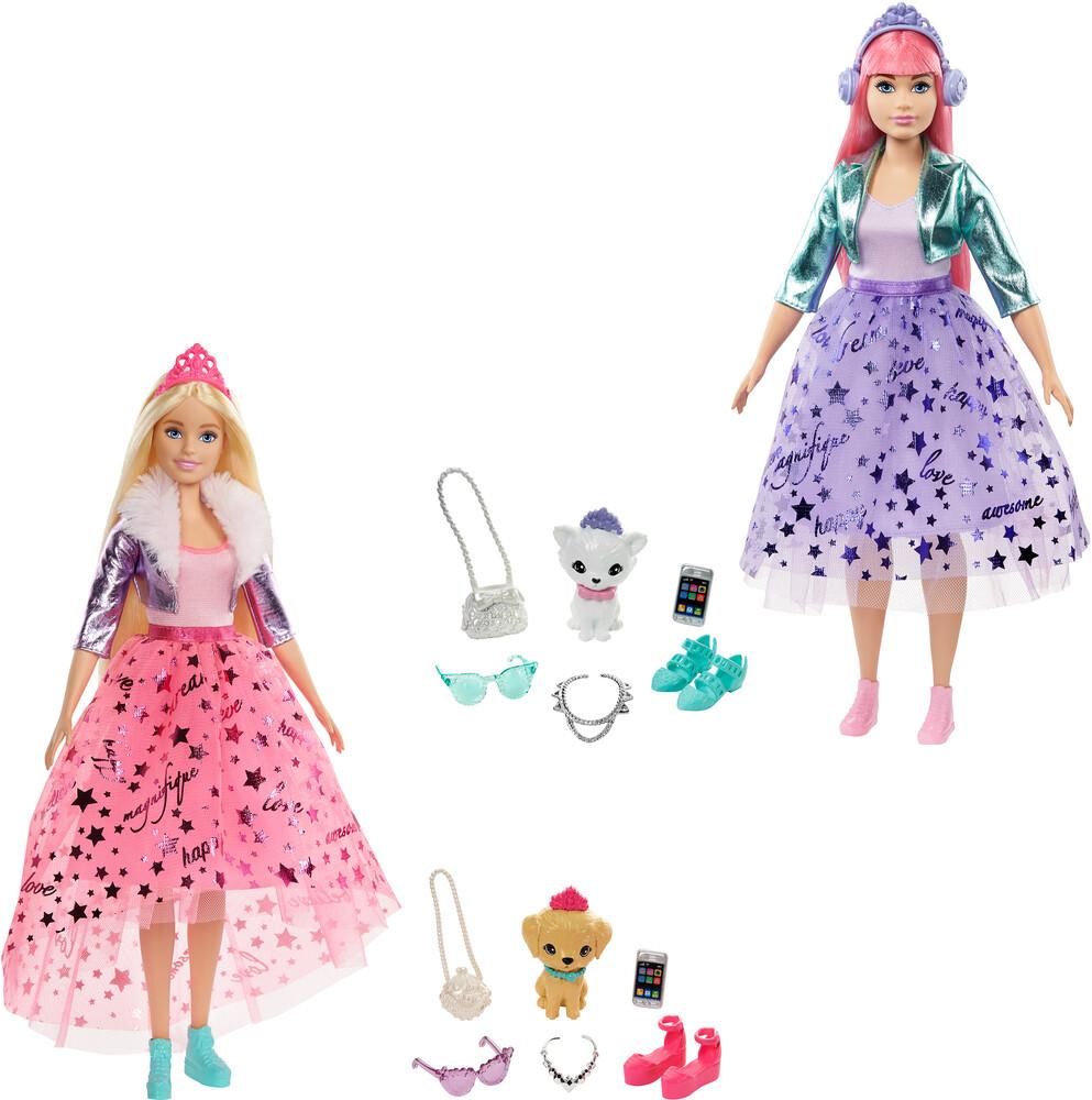 Barbie - Mattel - Barbie Dreamhouse Adventures Deluxe Princess Assortment