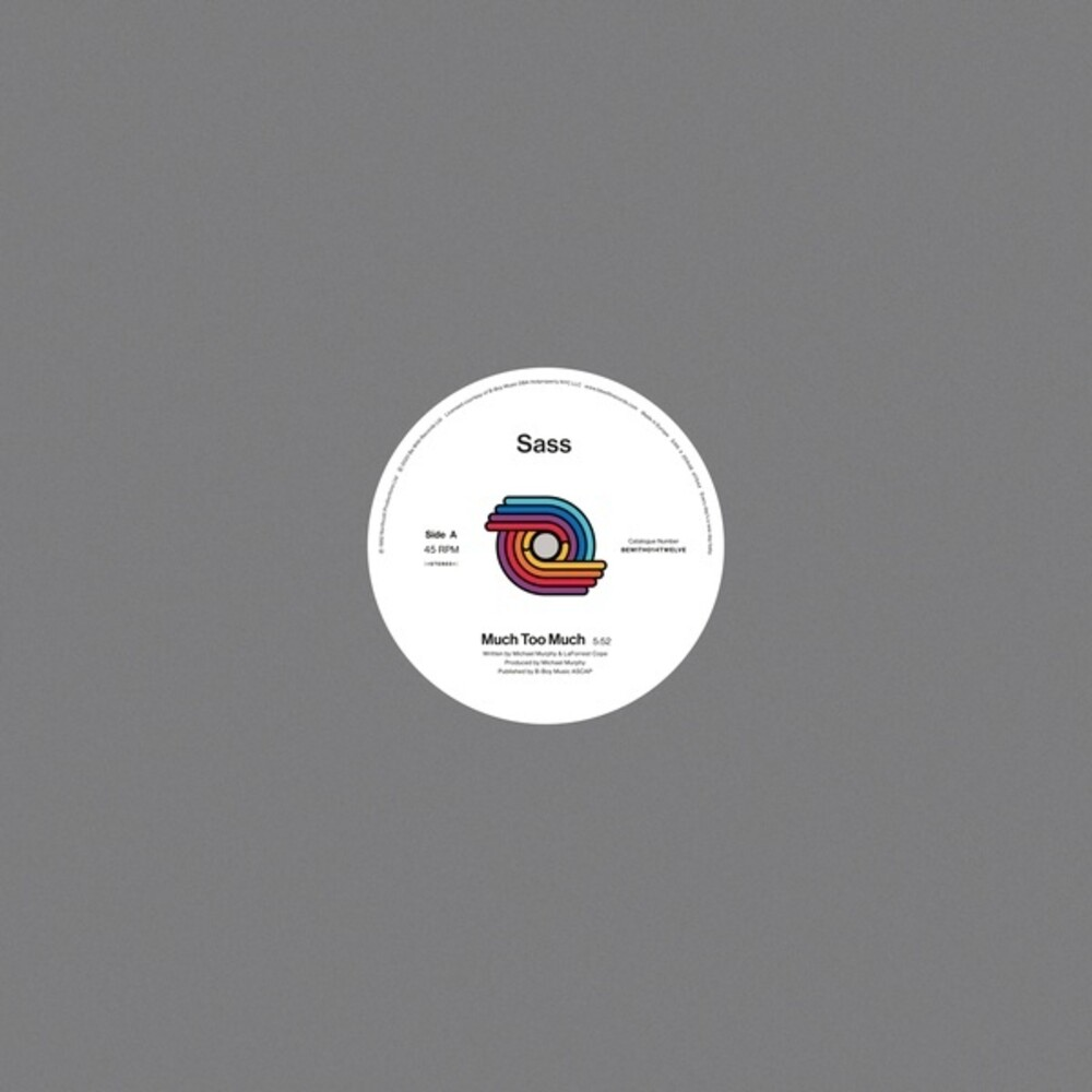 Sass - Much Too Much (Ofgv) [Reissue]
