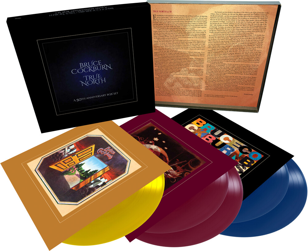 Bruce Cockburn - True North - 50th Anniversary Box Set (Box)