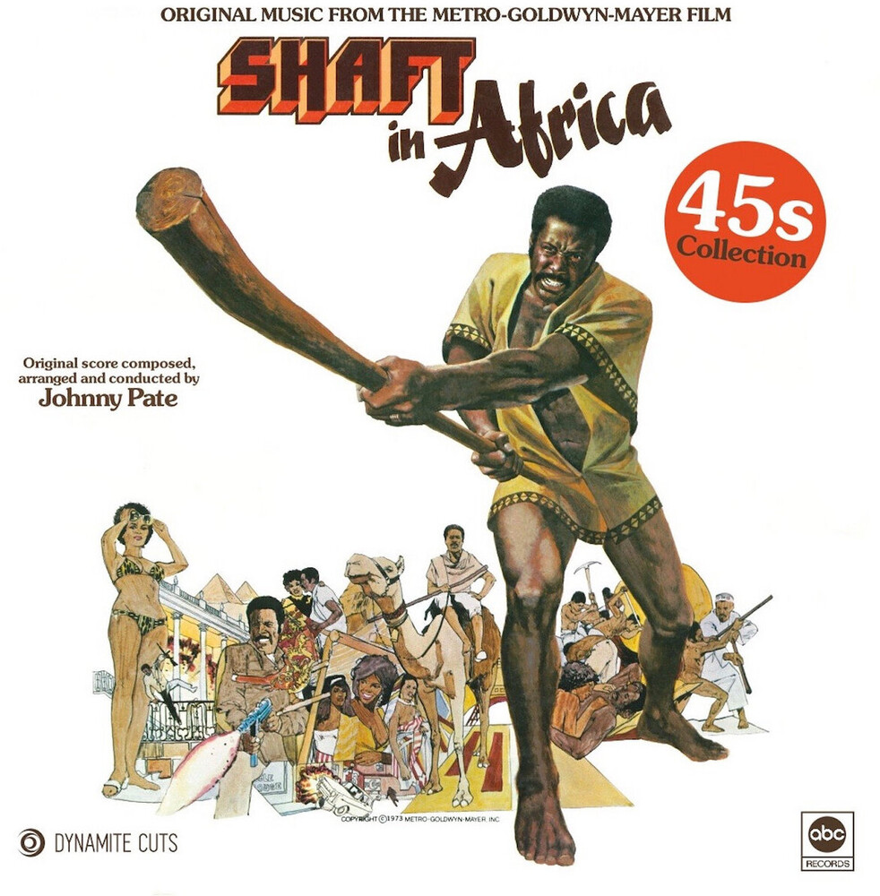 Johnny Pate Ltd - Shaft In Africa / O.S.T. (Ltd)