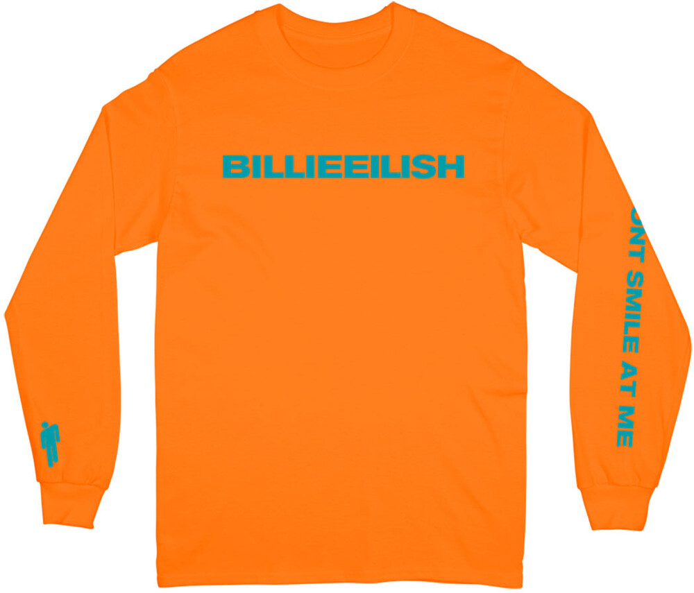Billie Eilish - Billie Eilish Don't Smile Unisex Long Sleeve T-Shirt XL