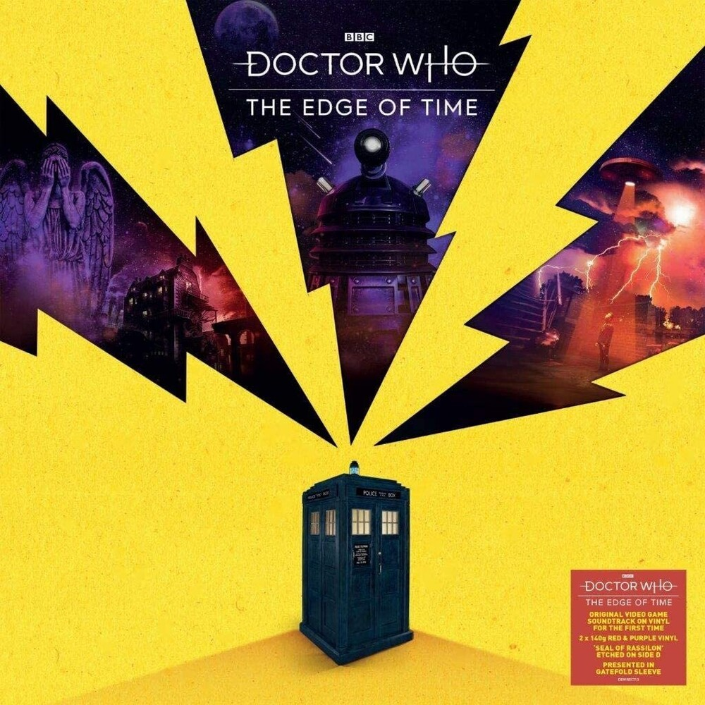 Doctor Who Colv Ofgv Uk - Edge Of Time (Original Soundtrack) [Record Store Day Black Friday140-Gram Colored Vinyl]