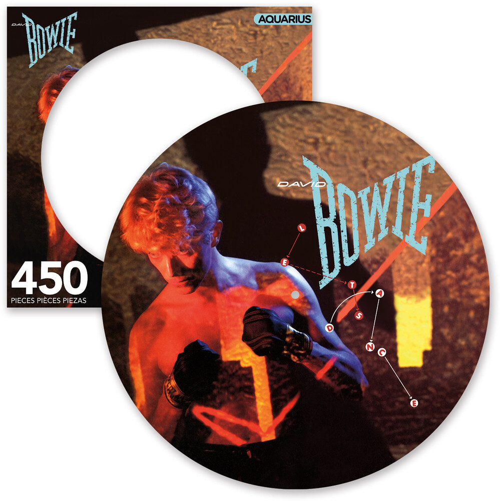David Bowie Let's Dance 450 PC Picture Disc Puzzle - David Bowie Let's Dance 450 pc Picture Disc Puzzle