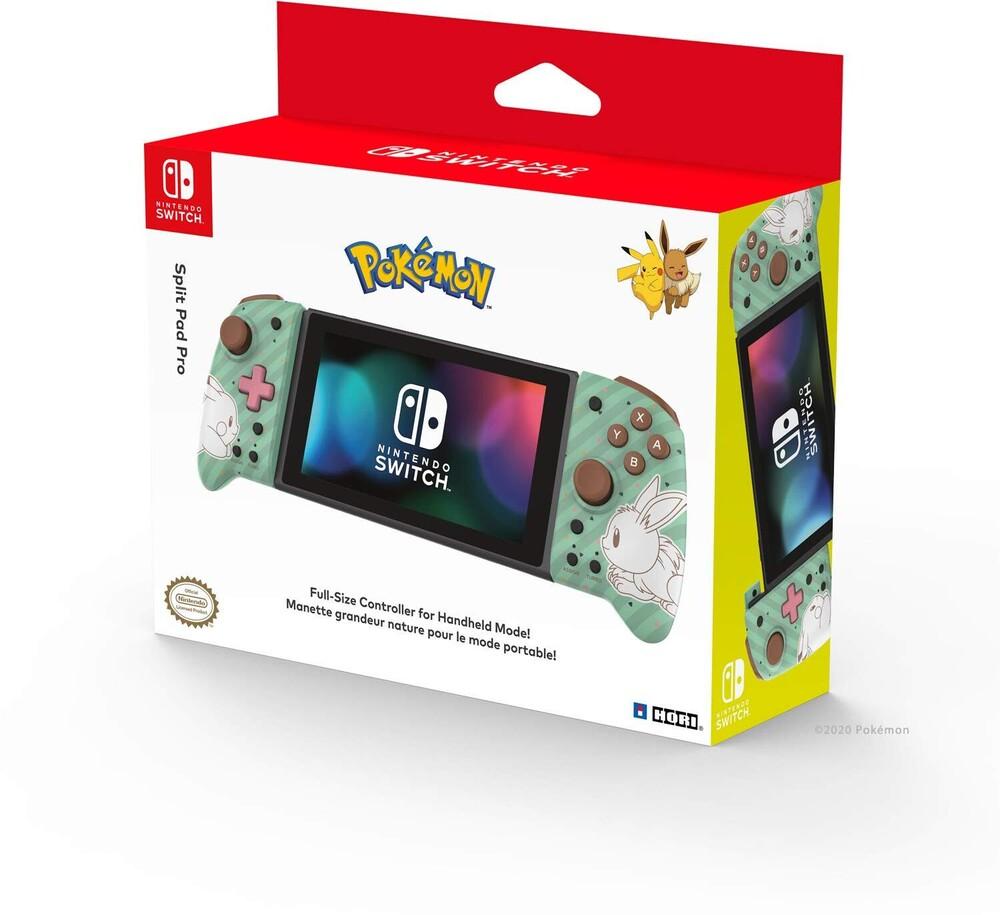 Hori Swi Split Pad Pro - Pikachu & Eevee - HORI Split Pad Pro (Pikachu & Eevee) for Nintendo Switch