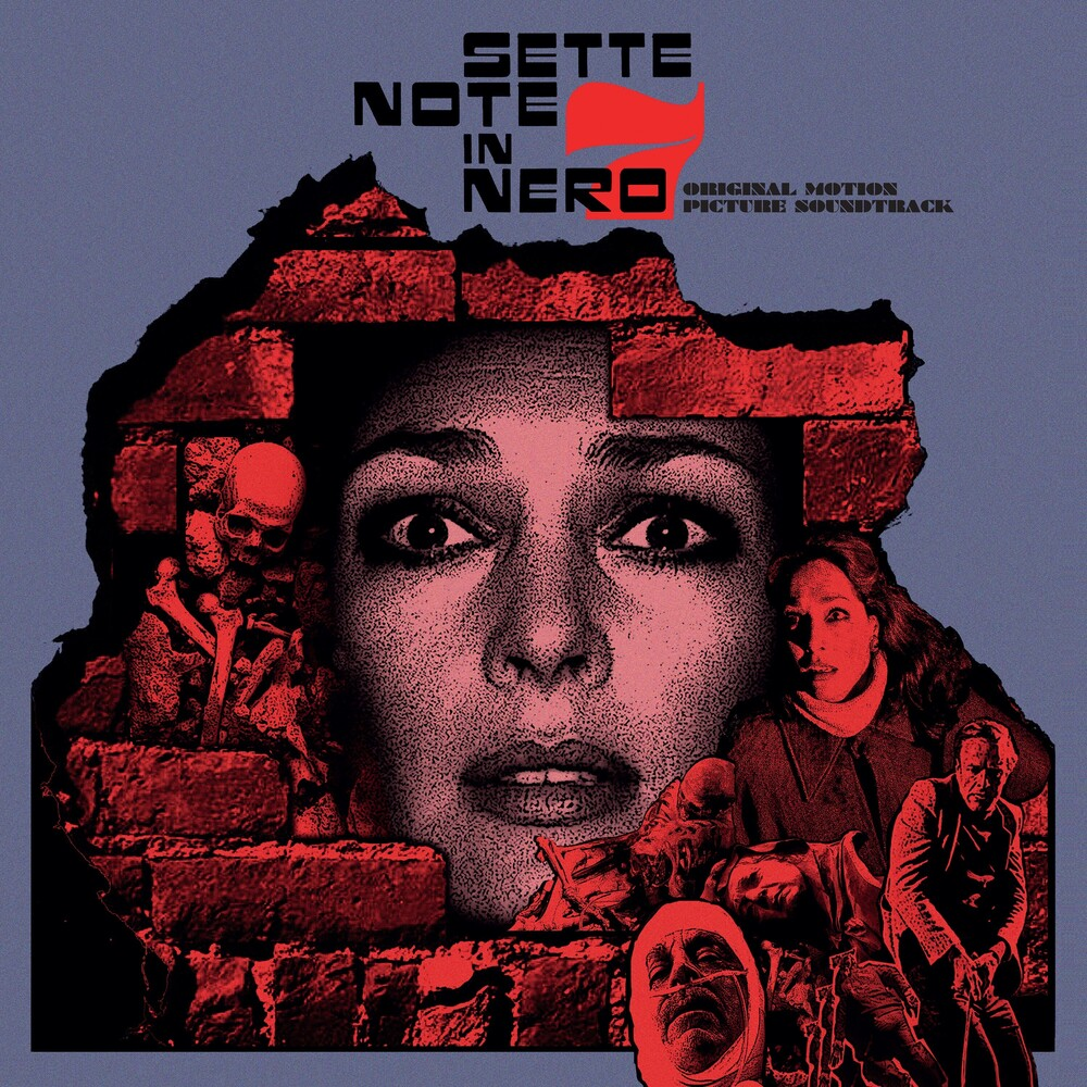 Sette Note In Nero / OST Blk Ogv - Sette Note In Nero / O.S.T. (Blk) [180 Gram]