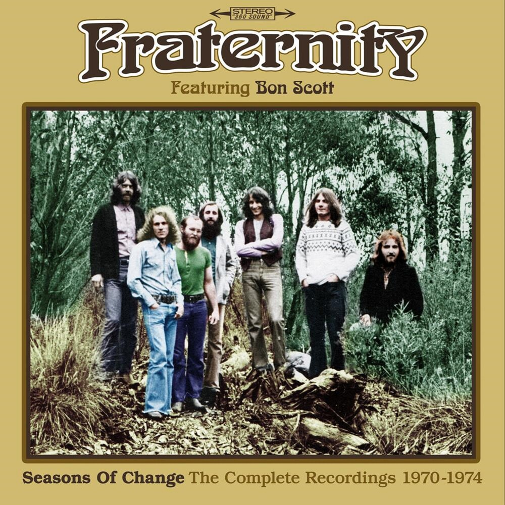 Fraternity - Seasons Of Change: Complete Recordings 1970-1974