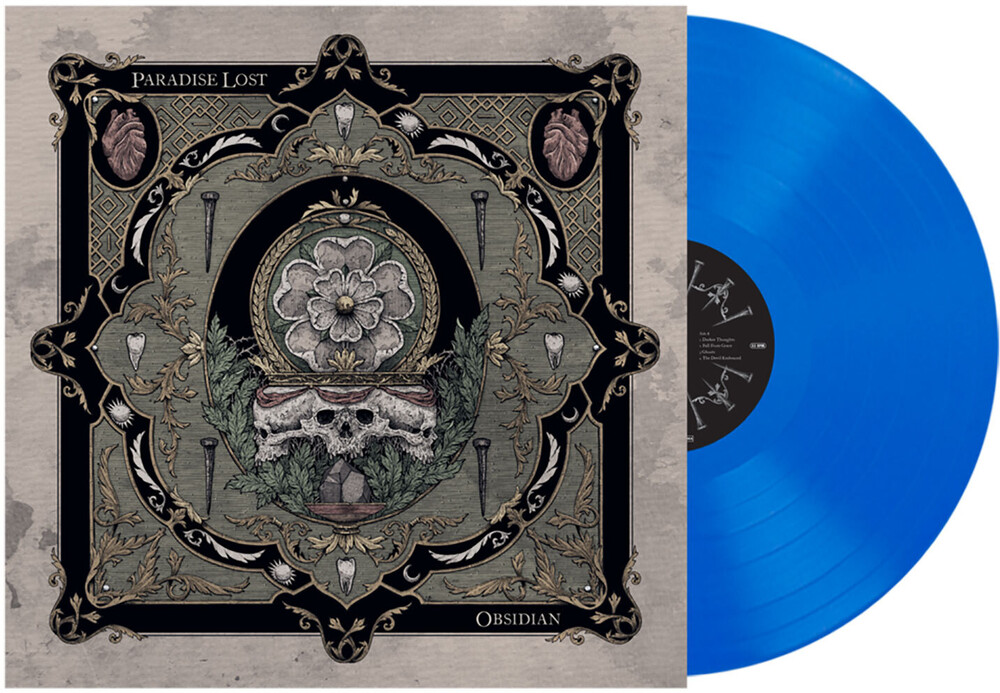 Paradise Lost - Obsidian (Ocean Blue Vinyl) (Blue)