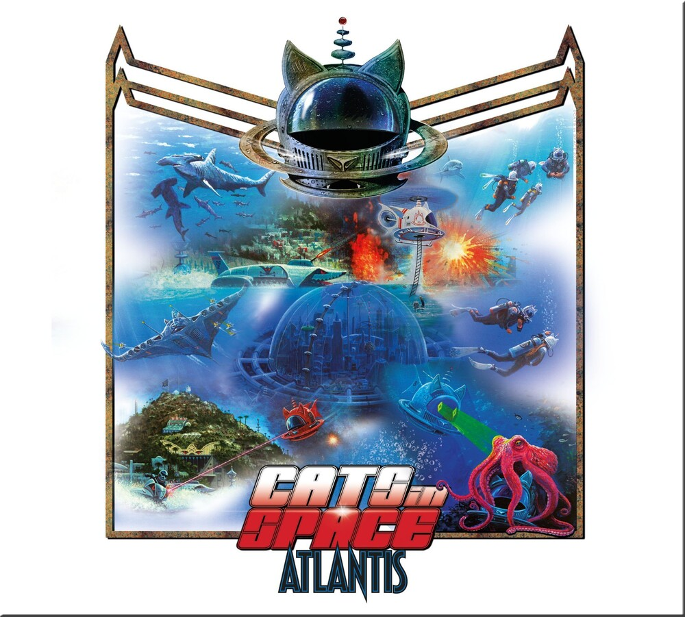 Cats in Space - Atlantis (Blue) (Uk)