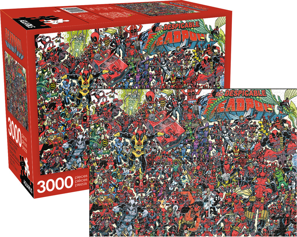 Marvel Deadpool 3000 PC Jigsaw Puzzle - Marvel Deadpool The Despicable Deadpool 3000 Pc Jigsaw Puzzle