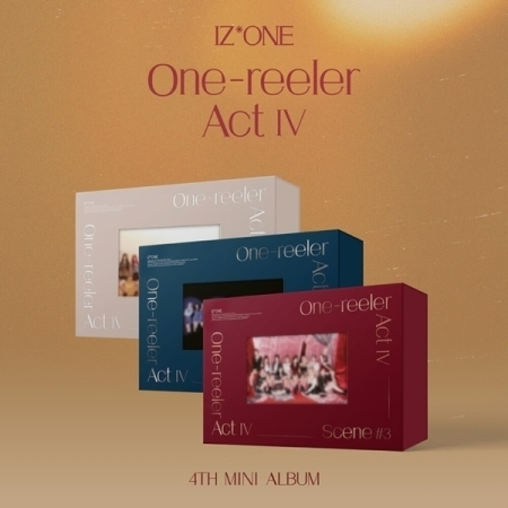 IzOne - One-Reeler / Act IV (Random Cover) (incl. Postcard, Photobook, Photo Movie Ticket, Circle Reel Photo, Film Photo, 2pc Photocard,