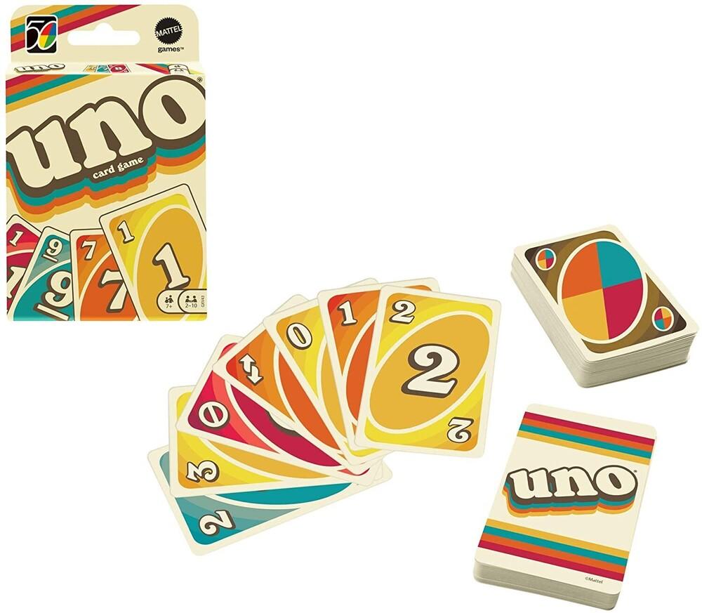 Uno - Mattel Games - UNO Iconic 1970's