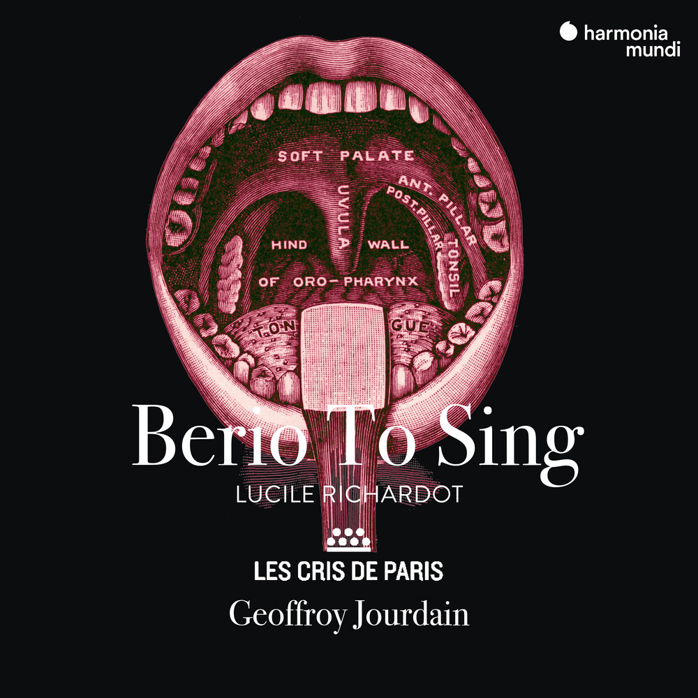 Lucile Richardot  / Les Cris De Paris - Berio To Sing