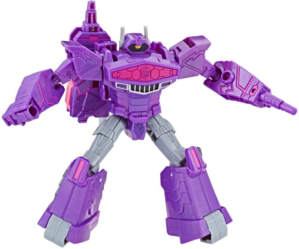 Tra Cyberverse Warrior Shockwave - Hasbro Collectibles - Transformers Cyberverse Warrior Shockwave