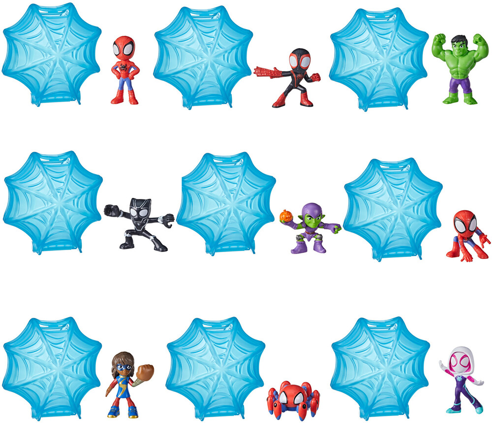 Saf Webs Up Minis - Hasbro Collectibles - Spidey And His Amazing Friends Webs Up Minis
