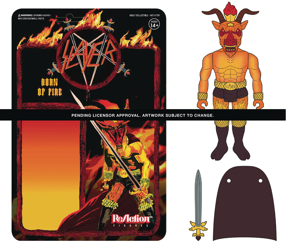 Slayer Minotaur Reaction - Born of Fire - Super7 - Slayer Minotaur ReAction - Born Of Fire