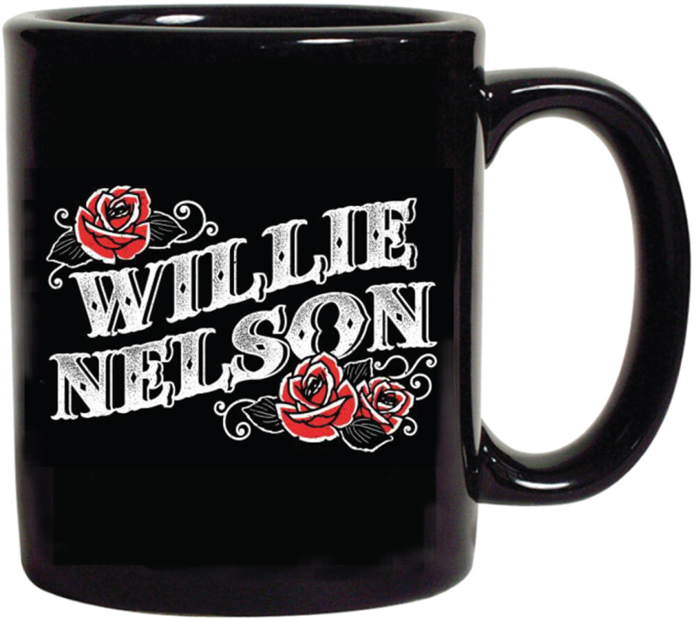 Willie Nelson Roses 16 Oz Coffee Mug - Willie Nelson Roses 16 Oz Coffee Mug