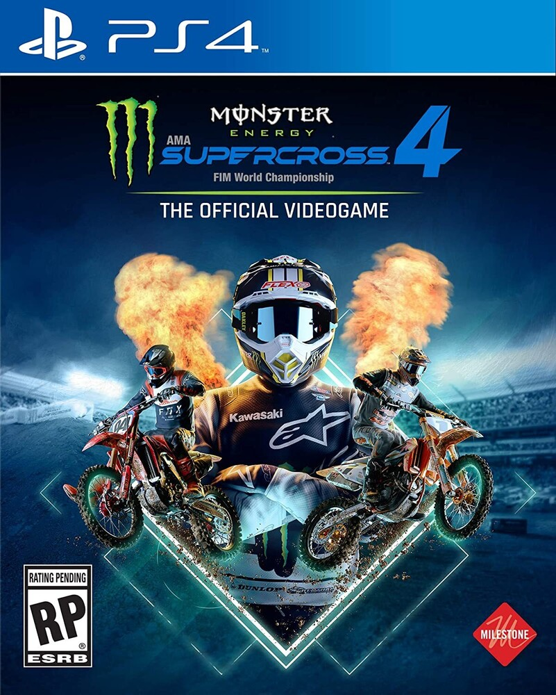 Ps4 Monster Energy Supercross 4 - Monster Energy Supercross 4 for PlayStation 4