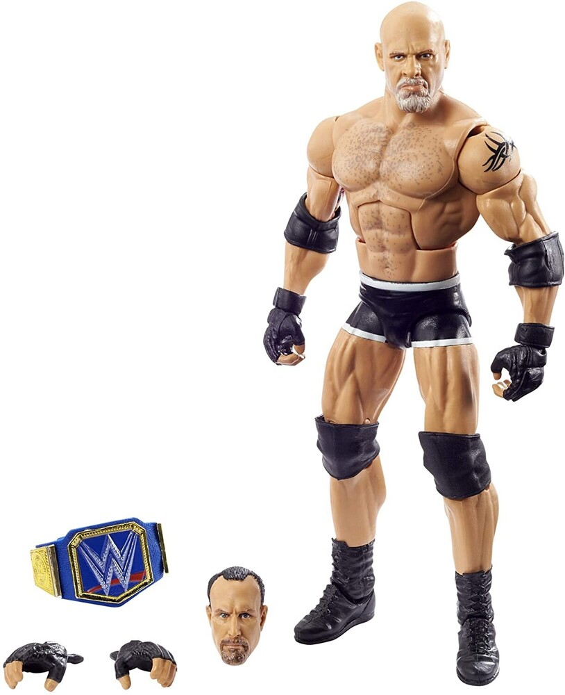 WWE - Mattel Collectible - WWE Wrestlemania Elite Goldberg