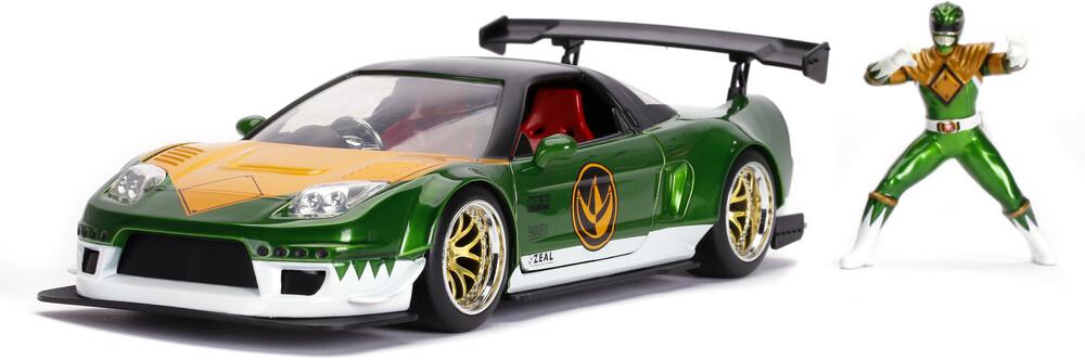 - Jada 1:24 Diecast 2002 Honda NSX With Green Ranger Figure