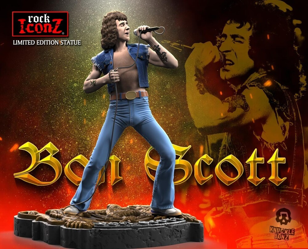 - Knucklebonz - Bon Scott Rock Iconz